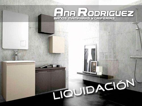 Liquidaci n en muebles y accesorios de ba o de exposici n for Liquidacion de muebles