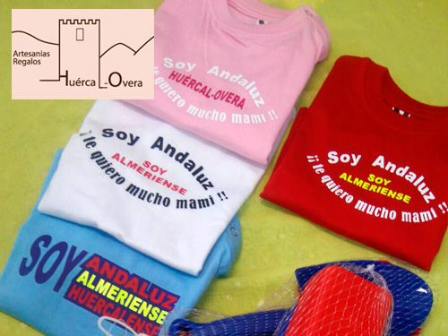 Bolsos y Camisetas personalizados por 10€ en Artesanía y Regalos Huércal-Overa