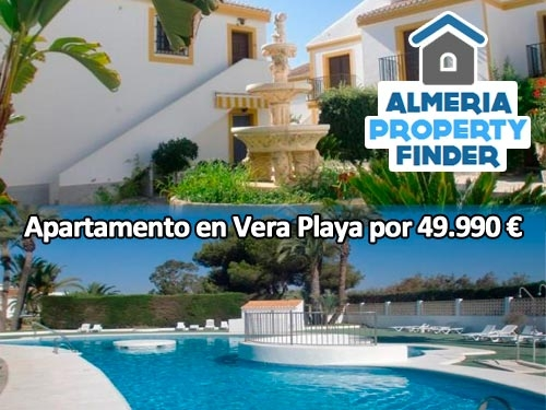 Apartamento en Vera Playa por 49.990 € con Almería Property Finder en Albox