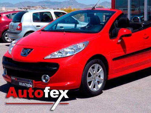 Este coche es tuyo!! Peugeot 207cc. Autofex de Albox y Antas (Almería)