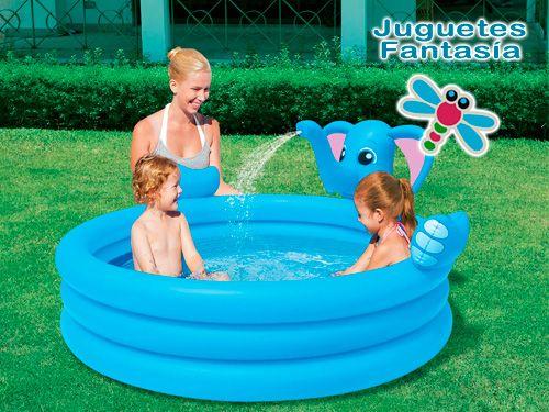 Piscina con centro de juegos para el disfrute de tus hijos desde 14€ en Juguetes Fantasía de Huercal Overa