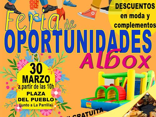 Ruta de la Tapa del 28 al 31 de marzo en Albox y Feria de Oportunidades el 30 de marzo