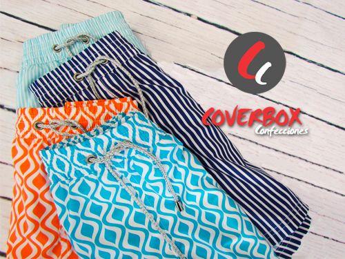 Confección y fabricación de Bañadores de hombre y niño en Coverbox