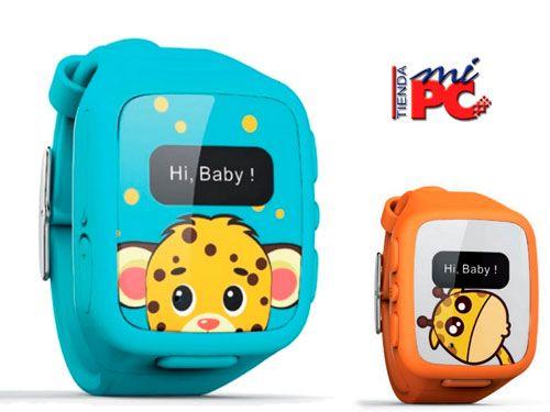 Reloj con localizador para que no pierdas los pasos de tu niños en Tienda Mi Pc de Albox