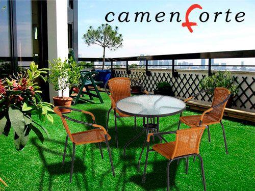 Comodidad para tu terraza o jard n en camenforte for Muebles jardin murcia