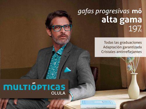 Juega a todas las distancias. Gafas mó progresivas Alta Gama y asesoramiento personalizado, Multiópticas en Olula del Río