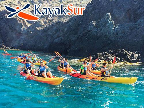 Paseo en Kayak por Cabo de Gata + Snorkell + Reportaje Fotográfico con KayakSur