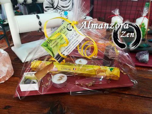 Cesta de productos Energía Positiva para regalar esta Navidad en Almanzora Zen Albox