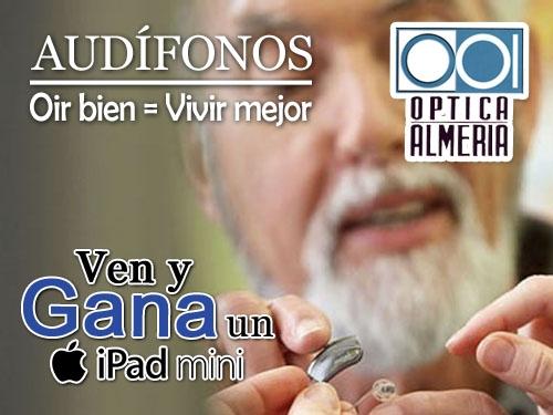 Audífonos digitales última generación desde 700 € en Óptica Almería, Albox