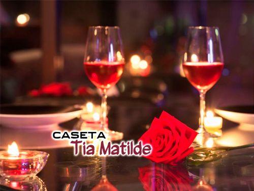 Celebramos San Valentín en Restaurante Caseta Tía Matilde de Cela- Lúcar