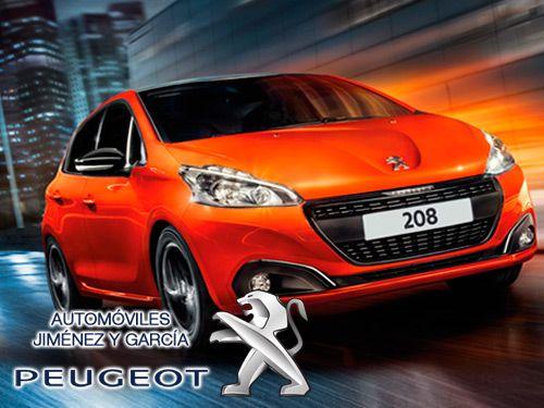 Libera tu energía. ¡Siente la vitalidad del nuevo Peugeot 208 y su increíble tecnología! con Automóviles Jiménez y Garcia-Peugeot de Albox