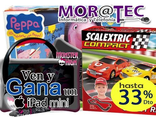 33% descuento en tablet y accesorios de ordenador en Moratec, tu tienda de informática y telefonía en Tíjola