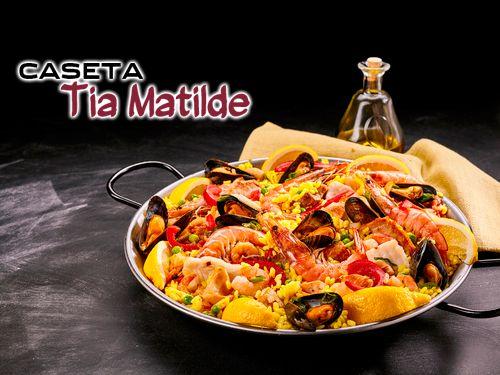 Deliciosa Paella, Ensalada, Bebida y Postre en la Balsa de Cela por 10€!! Caseta Tia Matilde, Restaurantes en Cela