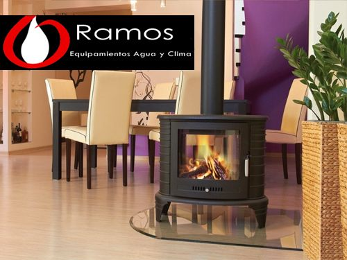 Save energy at home! Wood Burning Stoves in Equipamientos Ramos from Fines (Almería)