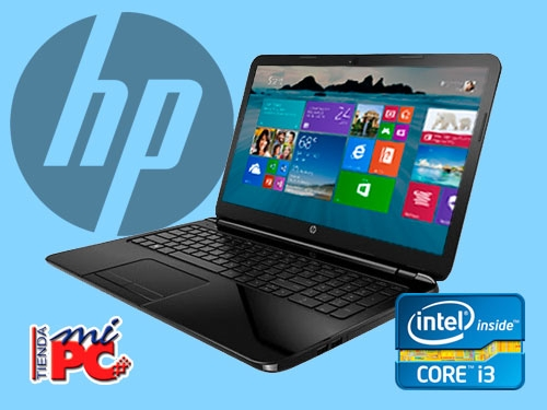 "Portátil HP Intel i3 15""/4Gb/500Gb Disco Duro por 399€ en Tienda Mi PC - Albox"