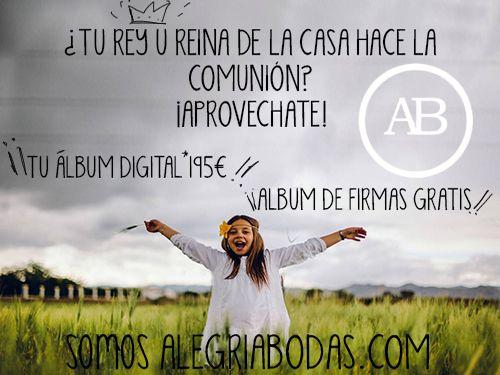 Especial Comuniones, Reportaje Fotográfico con Alegríabodas.com de Huércal-Overa